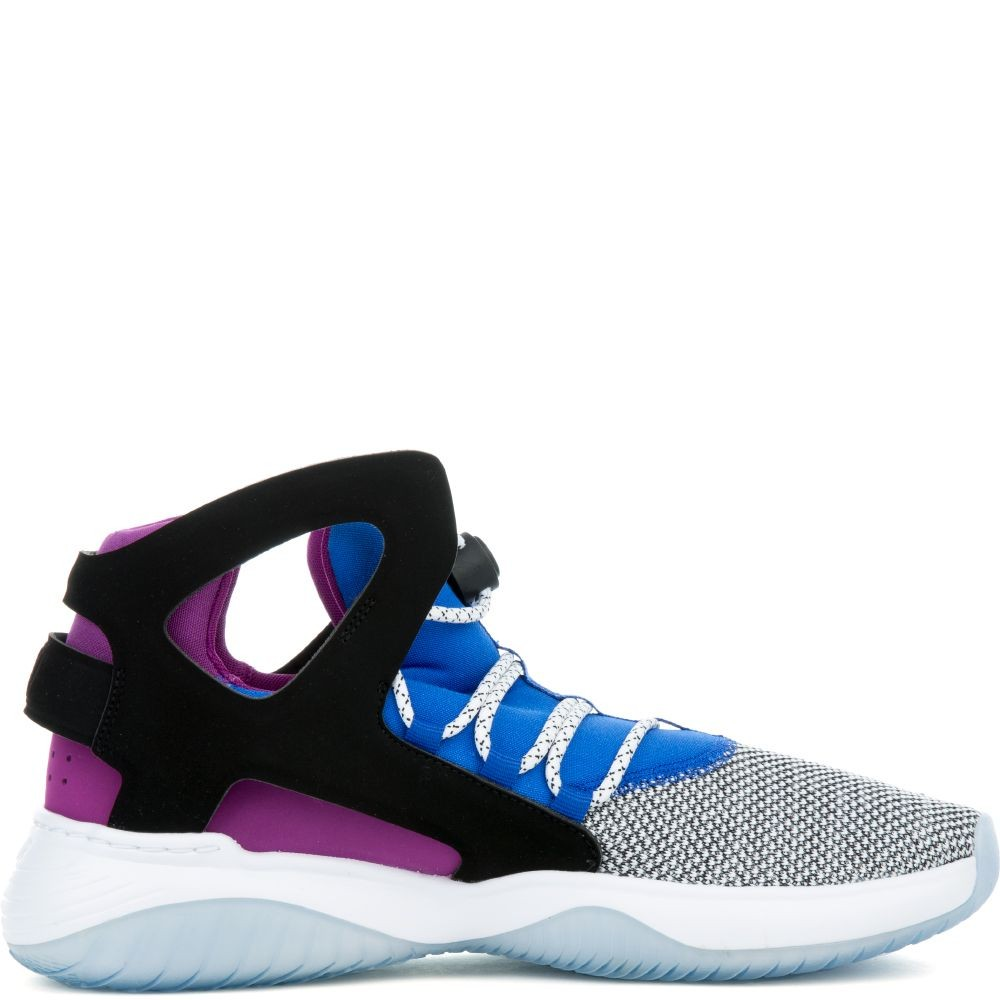 880856-100 Nike Air Flight Huarache Ultra - Bianche/Nere-Blu