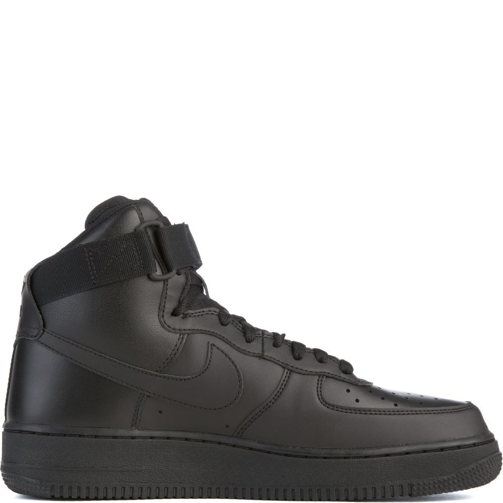 315121-032 Uomo Nike Air Force 1 High '07 - Nere/Nere