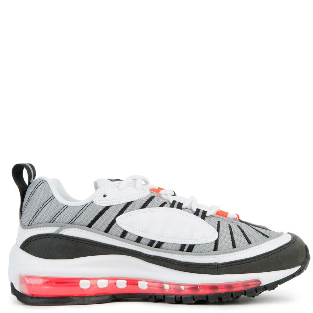 AH6799-104 Donne Nike Air Max 98 - Bianche/Rosse/Argento