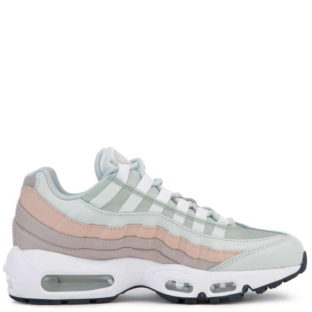 307960-018 Nike Air Max 95 - Argento chiaro/Bianche-Moon Particle