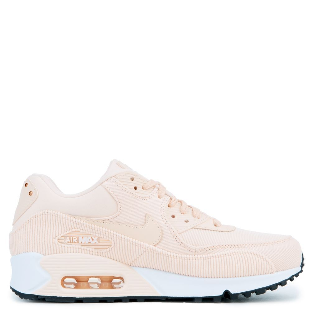 921304-800 Donne Nike Air Max 90 Leather - Guava Ice/Nere-Bianche