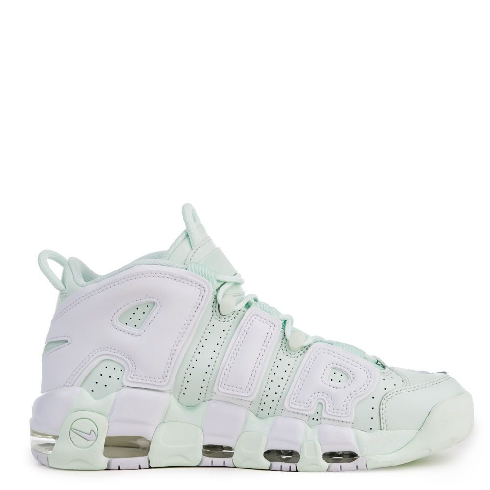917593-300 Nike Air More UPTEMPO - Barely Verdi/Bianche