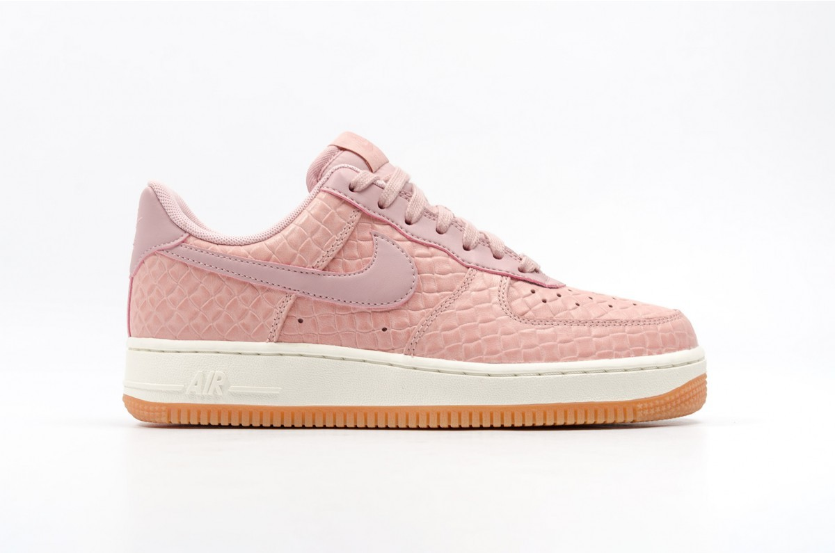 Nike Donne Air Force 1 '07 Premium (Rosa) Rosa/Rosa 616725-601