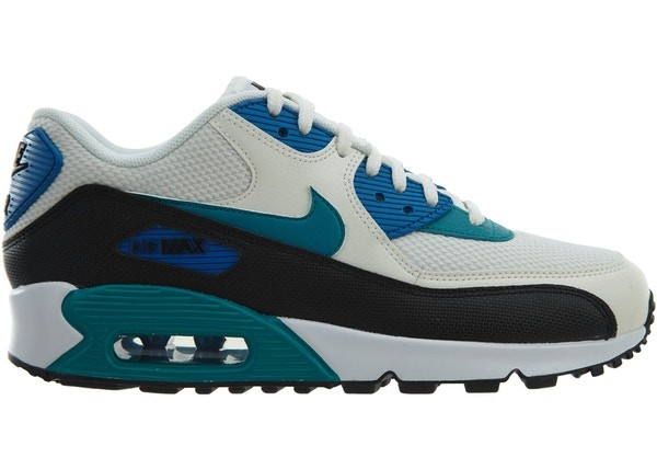 Nike Donne Air Max 90 325213-134 - Sail/Radiant Emerald-Nere