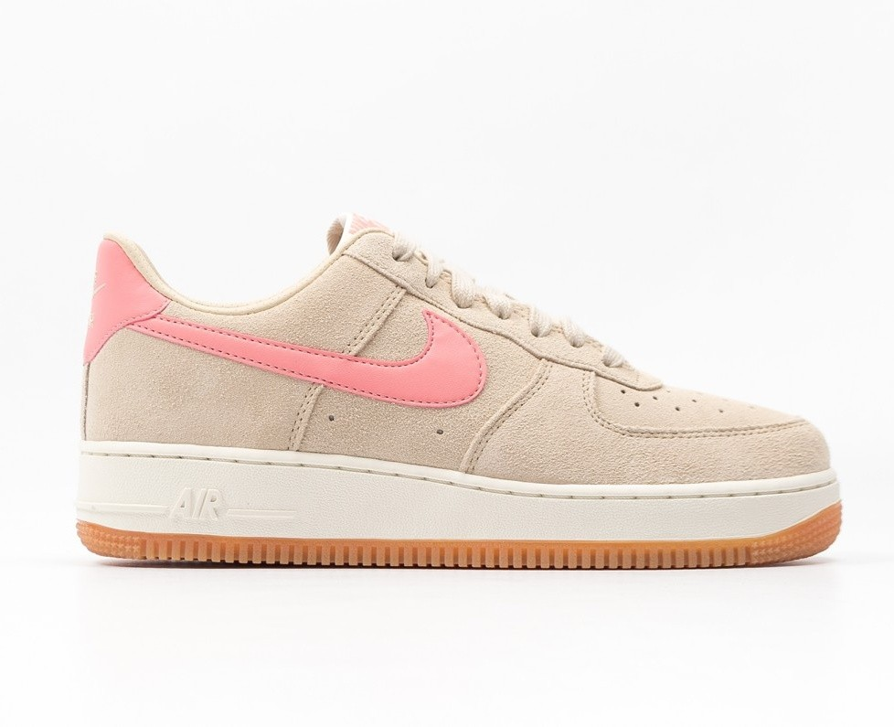 Nike Donne Air Force 1 '07 (Beige/Rosa) 818594-100