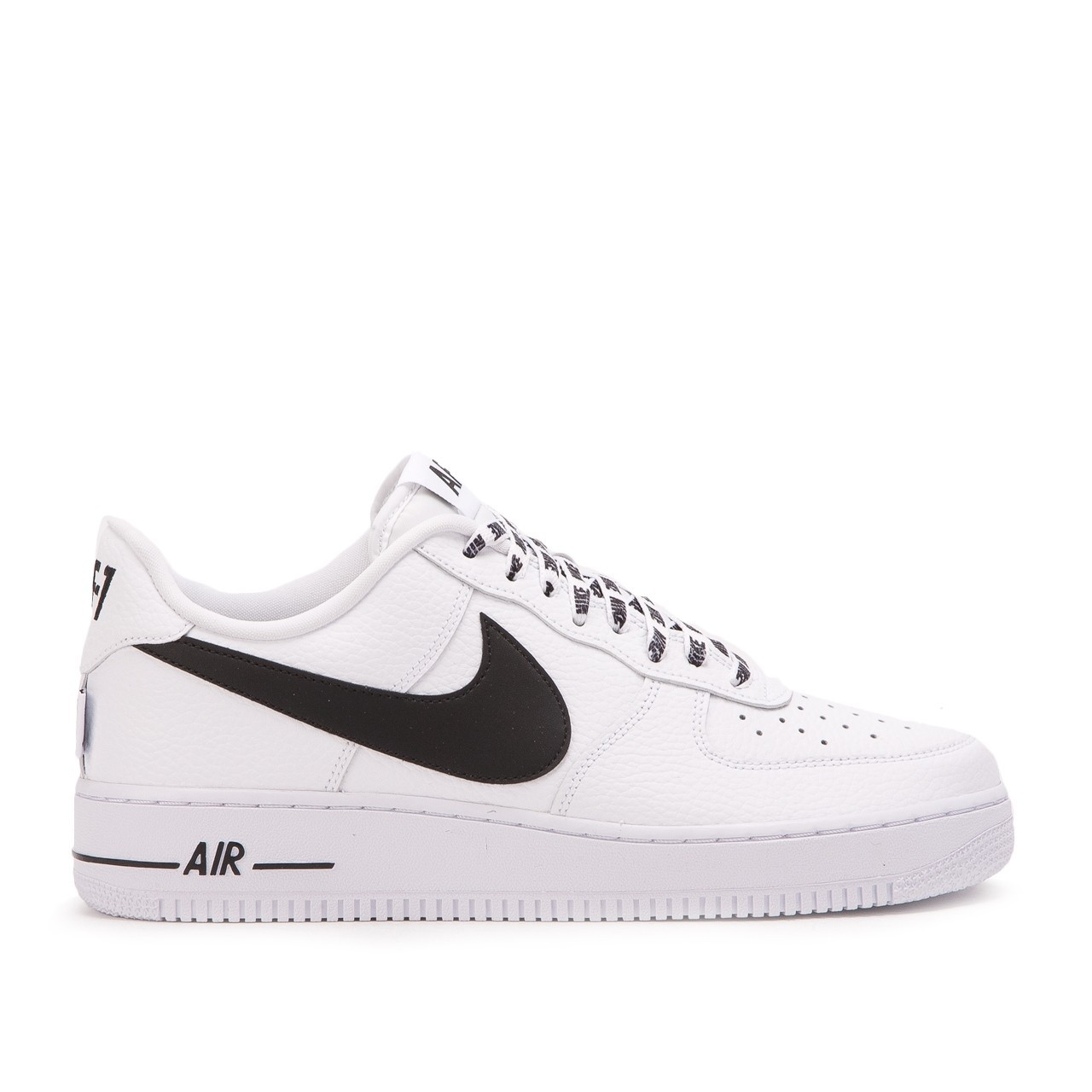 """Nike Air Force 1 Low """"NBA Pack"""" Bianche/Nere 823511-103"""