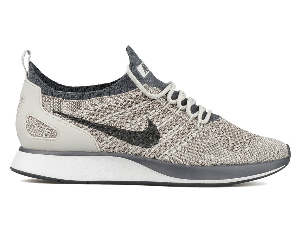Scarpe Nike Donne Air Zoom Mariah Flyknit Racer Grigio/Bianche AA0521-002