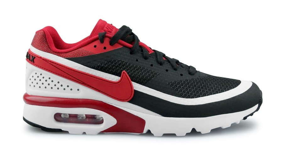 Nike Air Max BW Ultra SE Uomo Nere/Bianche/Metallic Silver/Rosse 844967-006