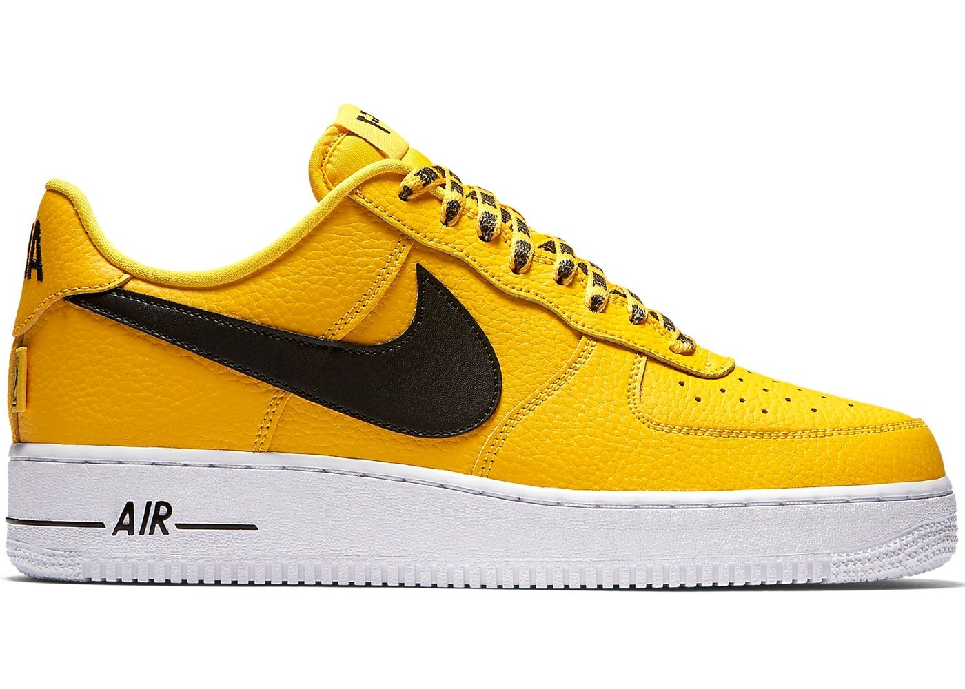 Nike Air Force 1 Low Gialle/Nere Uomo 823511-701
