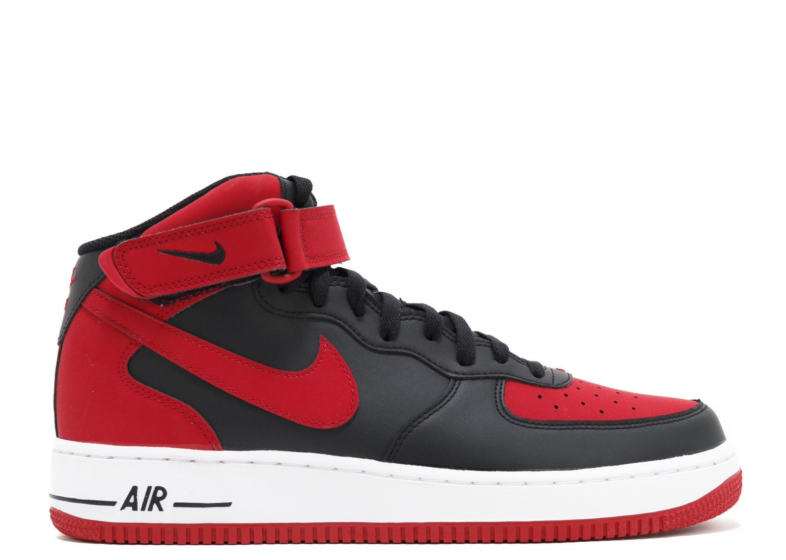 Nike Air Force 1 Mid 07 (Nere/Rosse/Bianche) - Uomo 315123 029