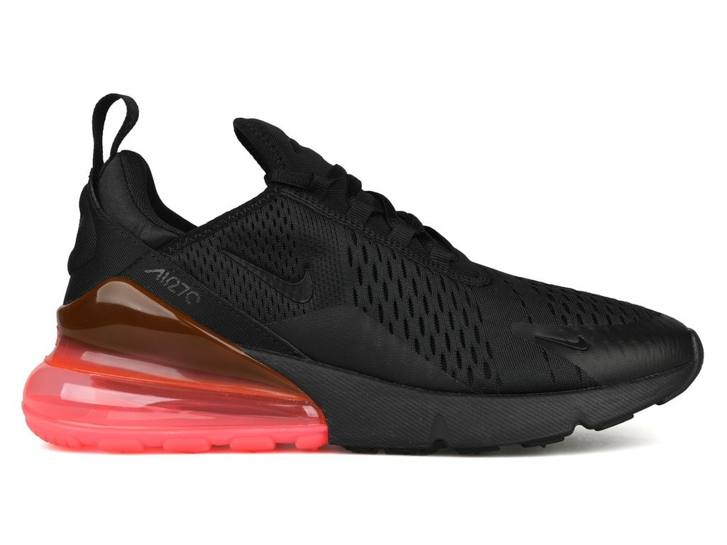 Nike Air Max 270 Nere/Nere-Hot Punch AH8050-010