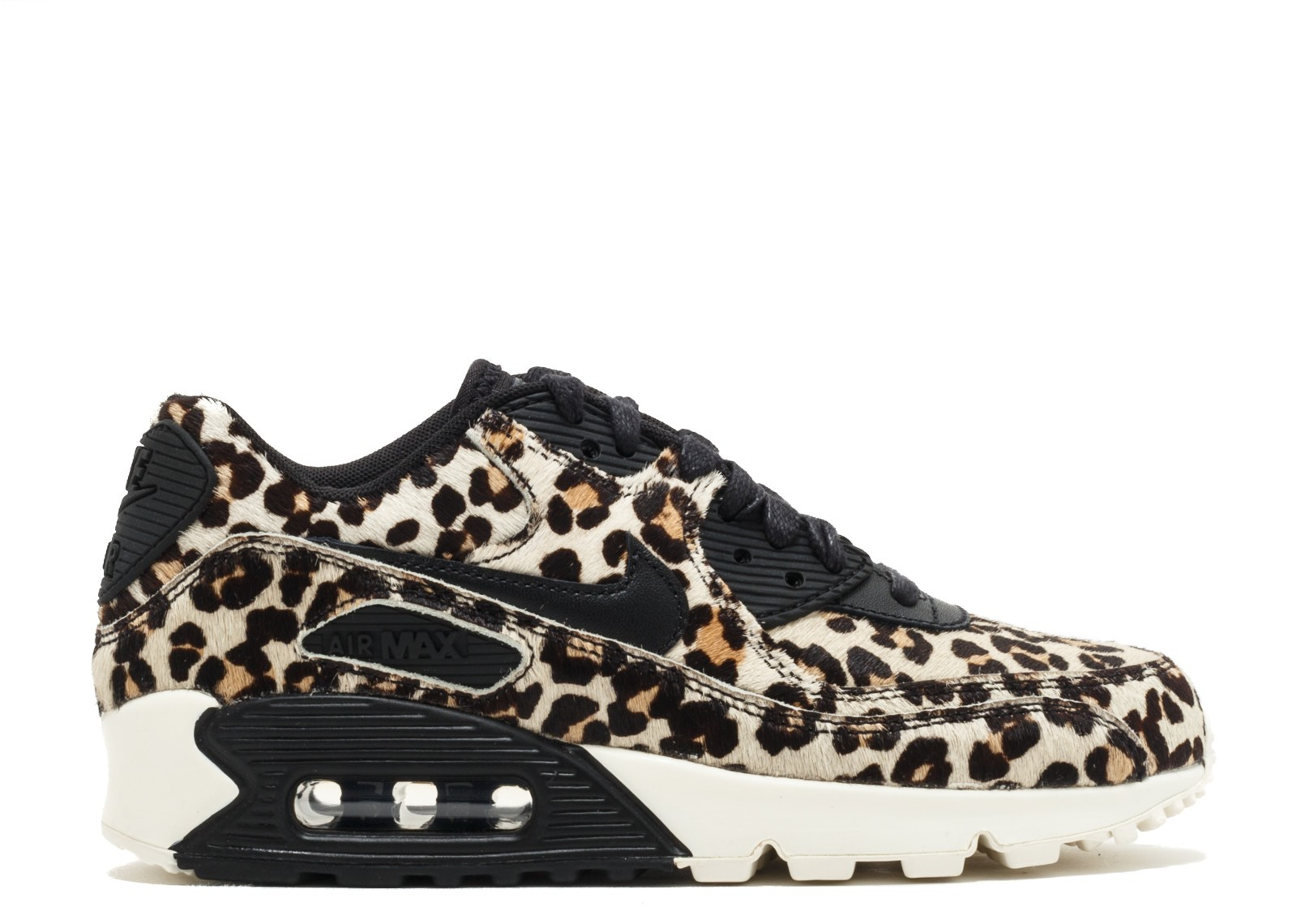 "Nike Donne Air Max 90 LX ""Animal-Pack"" Nere/Nere 898512-004"
