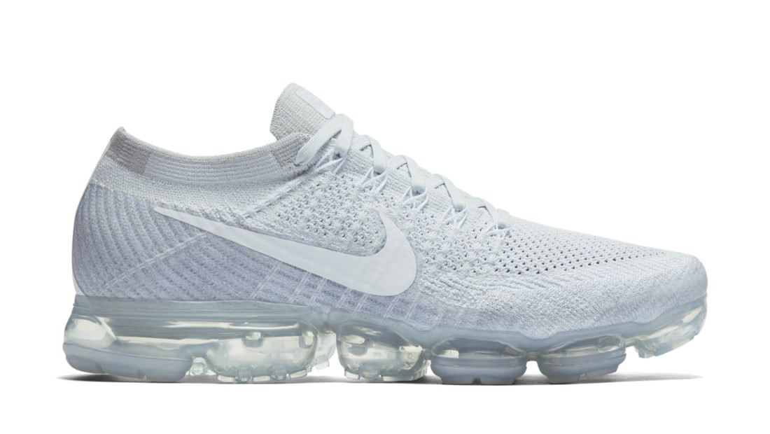 Nike Air Vapormax Flyknit Pure Platinum/Bianche/Grigio 849558-004