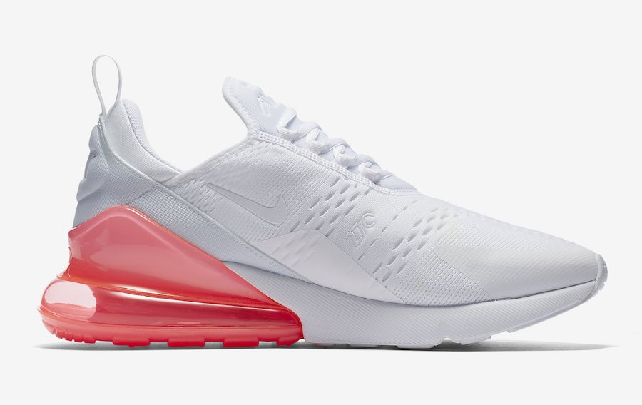 Nike Air Max 270 Bianche/Hot Punch AH8050-103