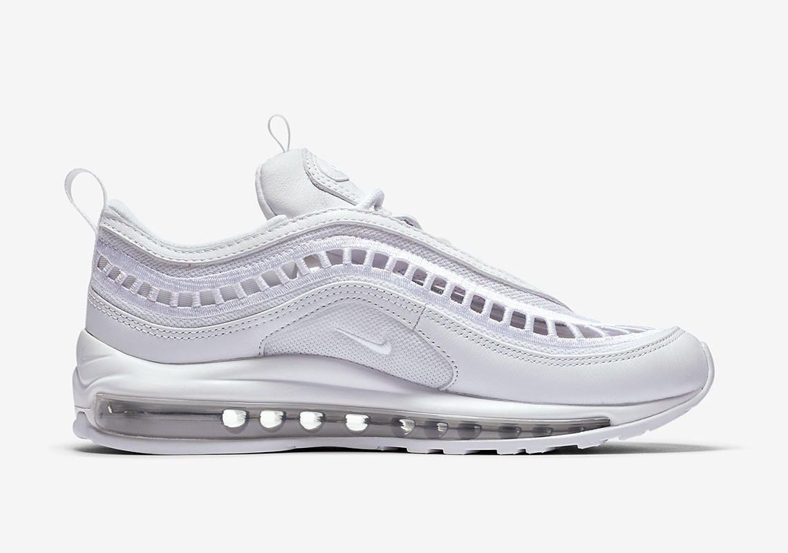 AO2326-100 Nike Air Max 97 Ultra '17 Bianche/Bianche-Grigio
