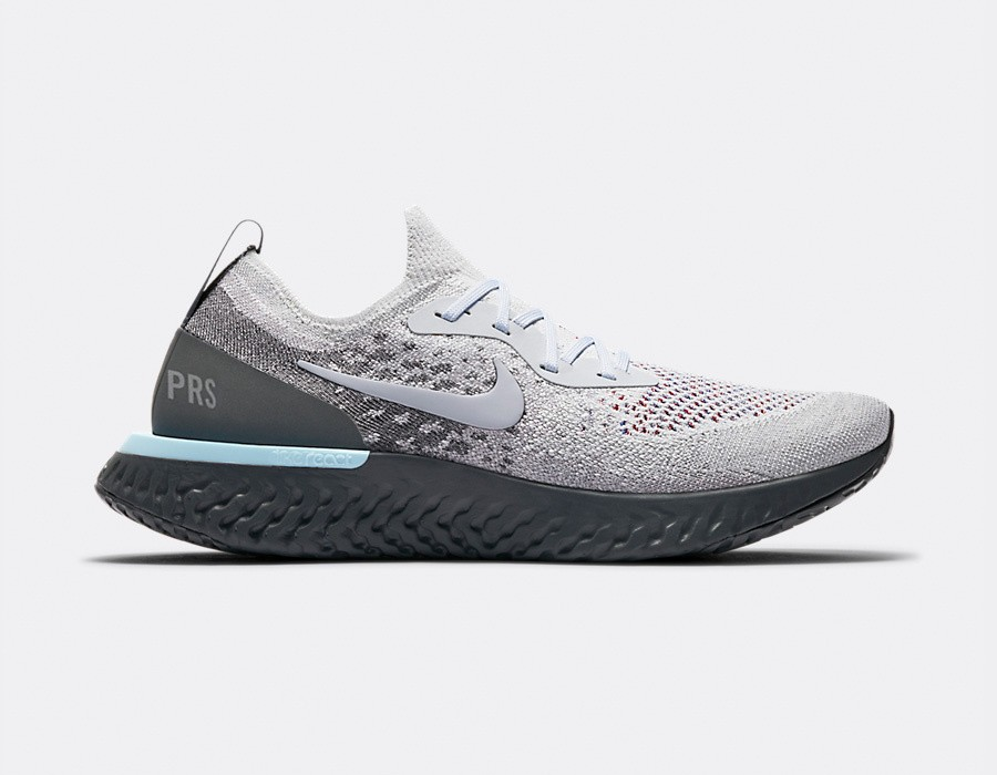 AV7013-200 Nike Epic React Flyknit - Light Cream/Grigio-Grigio scuro