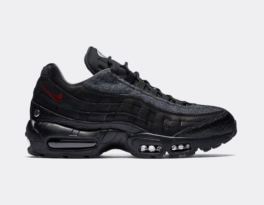 AT6146-001 Nike Air Max 95 NRG QS - Nere/Rosse-Anthracite