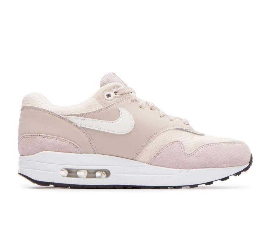319986-207 Nike Donne Air Max 1 Scarpe - Strings/Sail-Light Cream-Nere