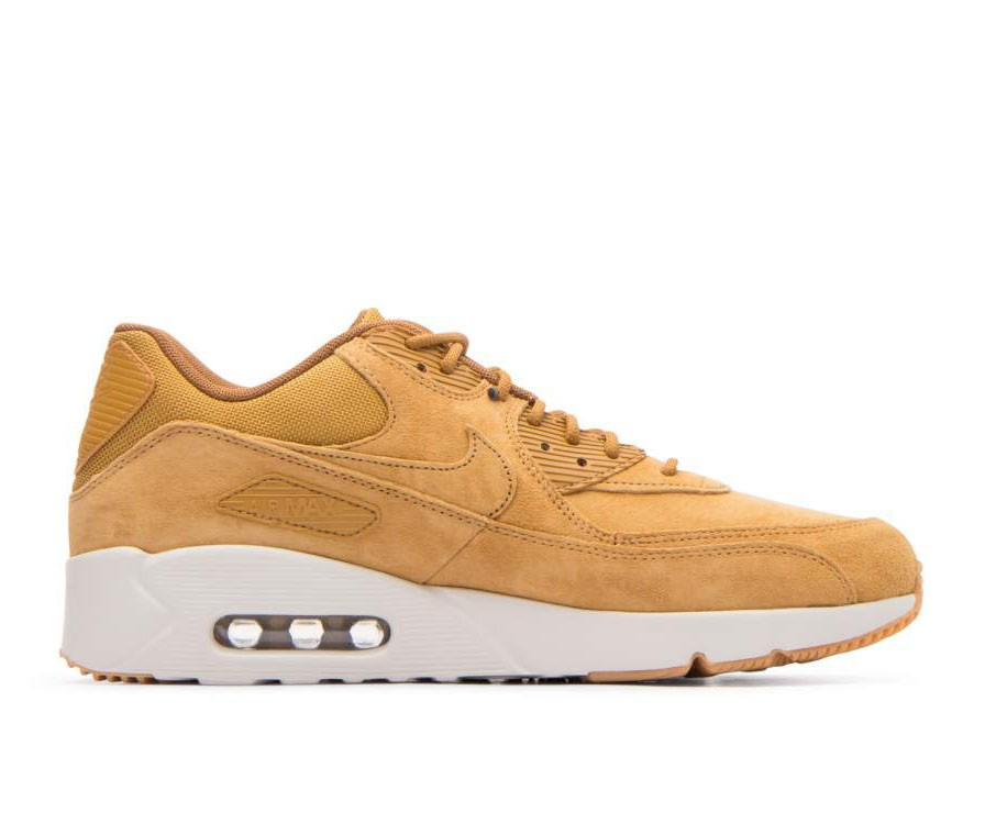 924447-700 Nike Air Max 90 Ultra 2.0 LTR - Wheat/Wheat/Light Bone/Marroni