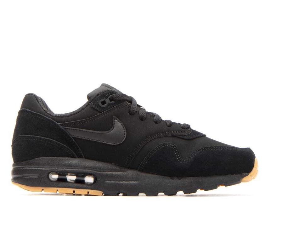807602-008 Nike Air Max 1 GS Scarpe - Nere/Nere-Marroni