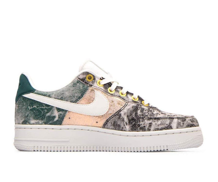 AO1017-100 Nike Donne Air Force 1 '07 LXX - Bianche/Bianche-Grigio