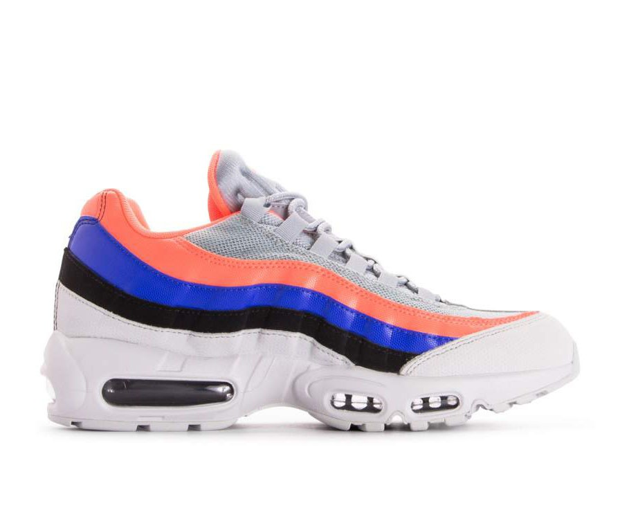749766-035 Nike Air Max 95 Essential - Pure Platinum/Nere-Bright Mango