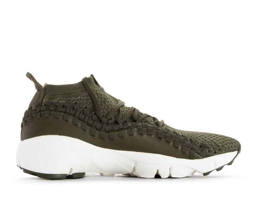 AO5417-300 Nike Air Footscape Woven NM Flyknit - Cargo Khaki/Dark Stucco-Verdi