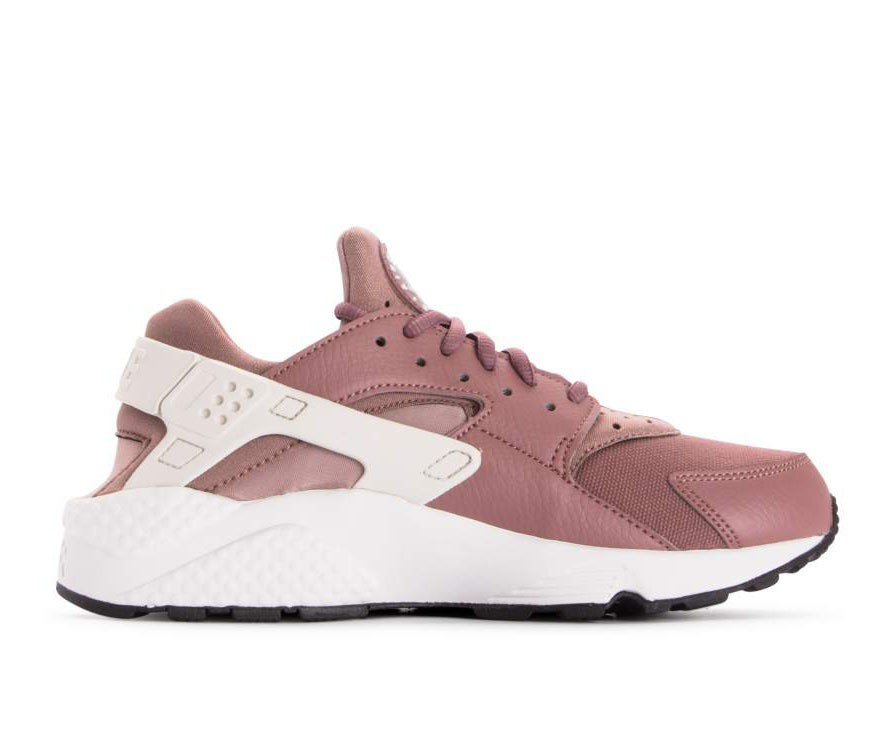 634835-203 Nike Donne Air Huarache Run - Smokey Mauve/Bianche-Diffused Taupe