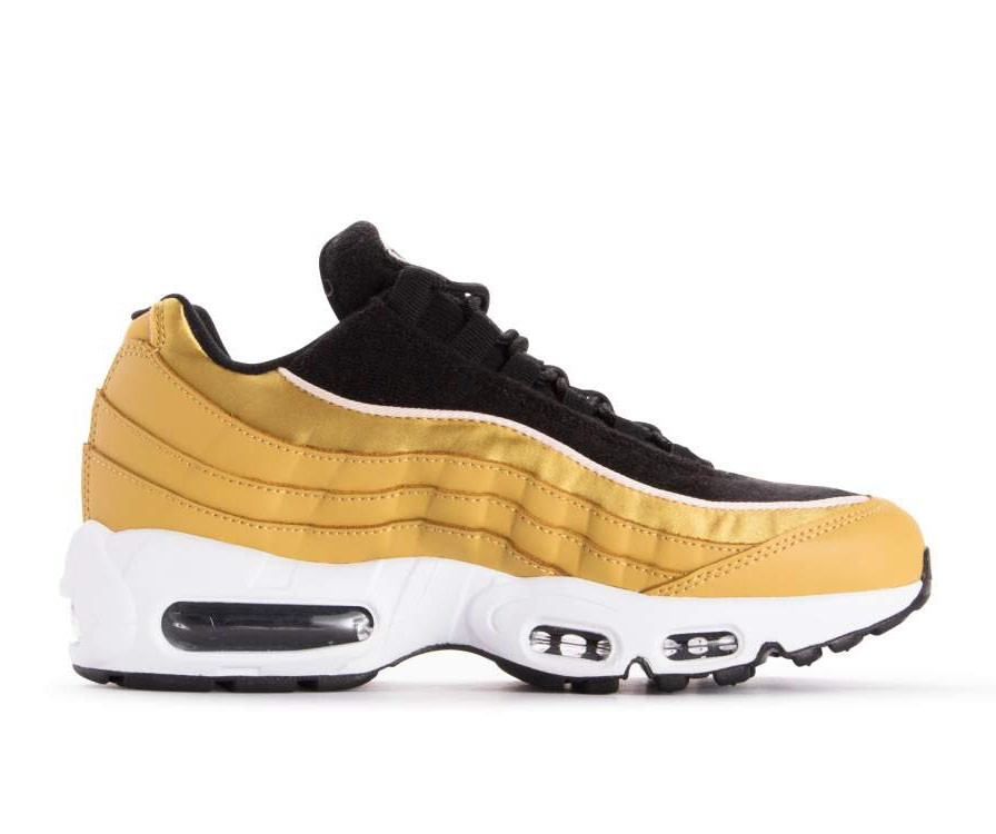AA1103-701 Nike Donne Air Max 95 LX - Wheat Oro/Wheat Gold-Nere-Guava Ice