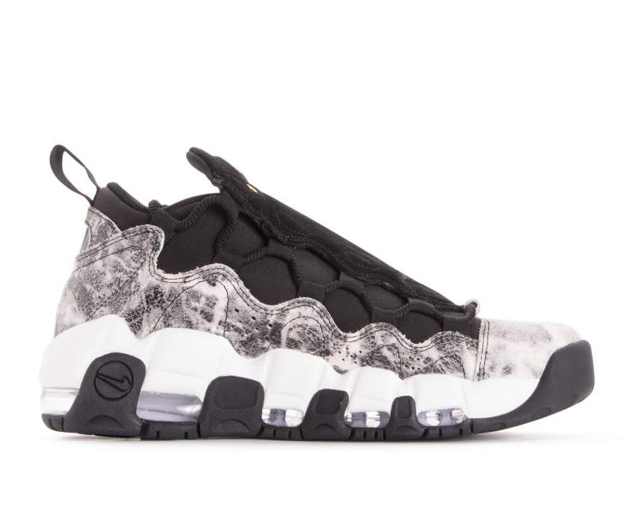nike air more money bianche