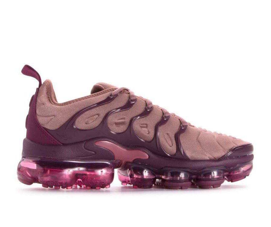 AO4550-200 Nike Donne Air Vapormax Plus - Smokey Mauve/Bordeaux-Vintage Wine-Nere