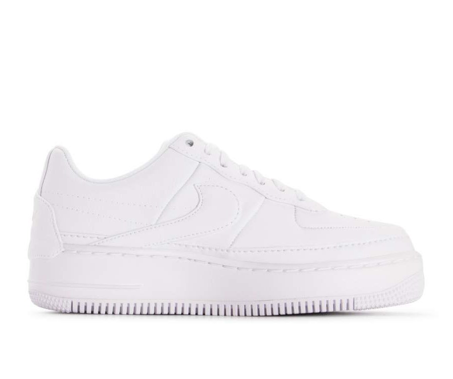 AO1220-101 Nike Donne Air Force 1 Jester XX - Bianche/Bianche-Nere