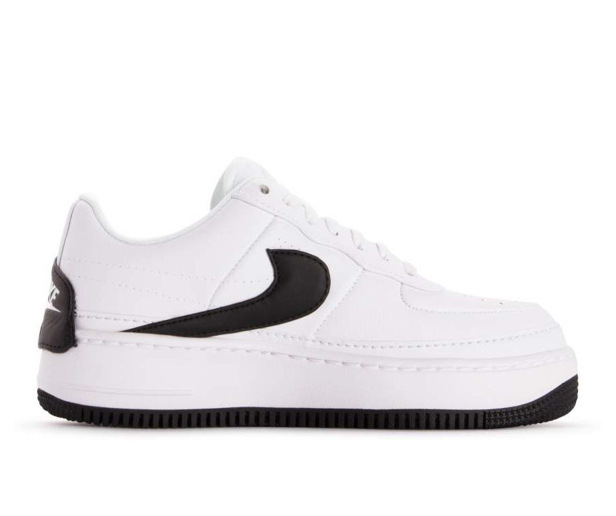 AO1220-102 Nike Donne Air Force 1 Jester XX - Bianche/Nere