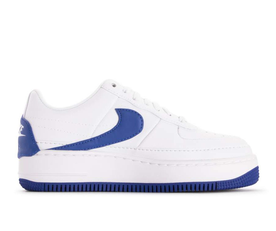 AO1220-104 Nike Donne Air Force 1 Jester XX - Bianche/Game Royal