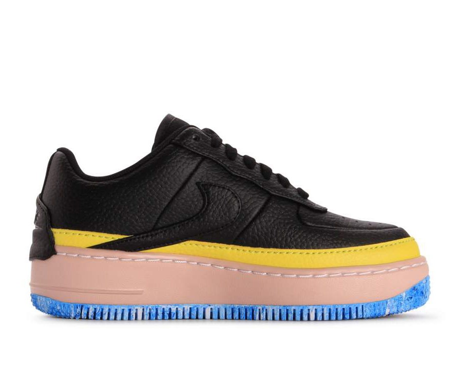 AT2497-001 Nike Donne Air Force 1 Jester XX SE - Nere/Gialle-Arancioni