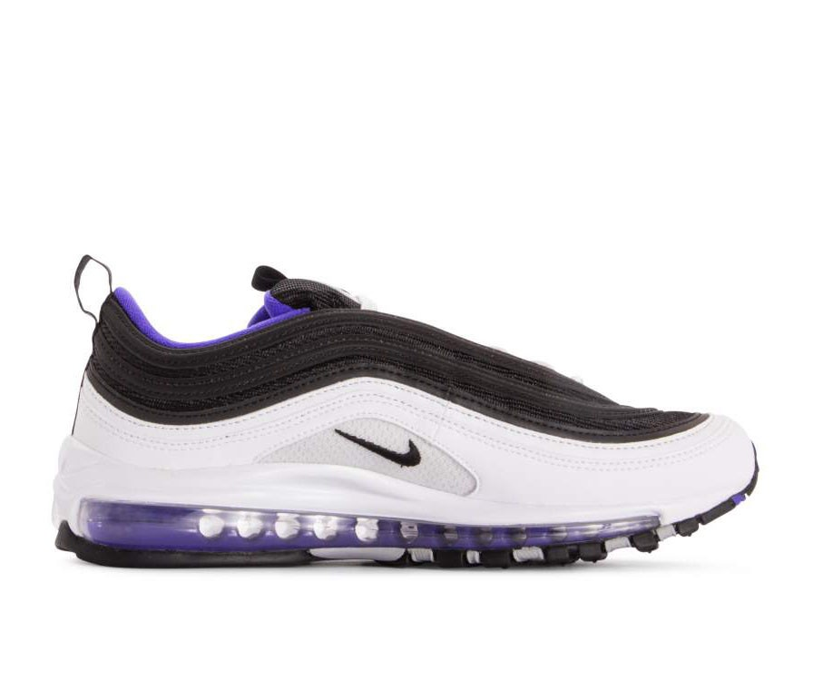 921826-103 Nike Air Max 97 - Bianche/Nere-Persian Violet