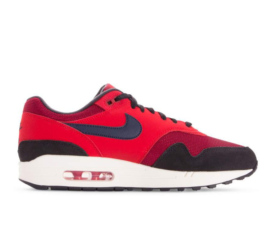 AH8145-600 Nike Air Max 1 - Rosse/Midnight Navy-Rosse
