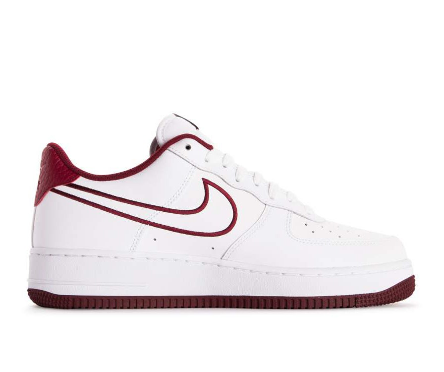 nike air force 1 bianche nere rosse