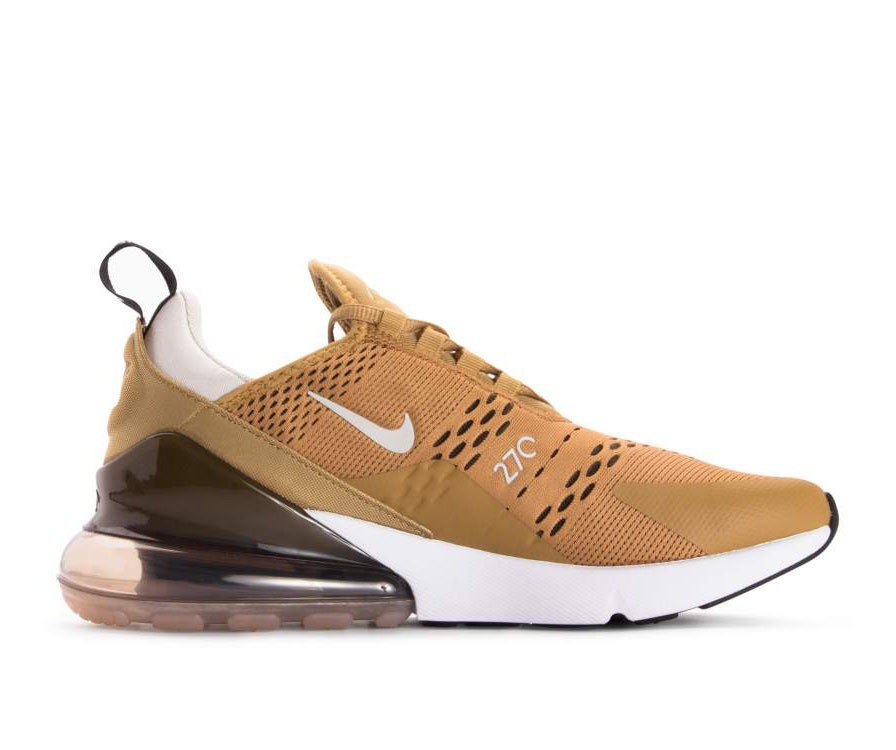 AH8050-700 Nike Air Max 270 - Oro/Nere-Light Bone-Bianche