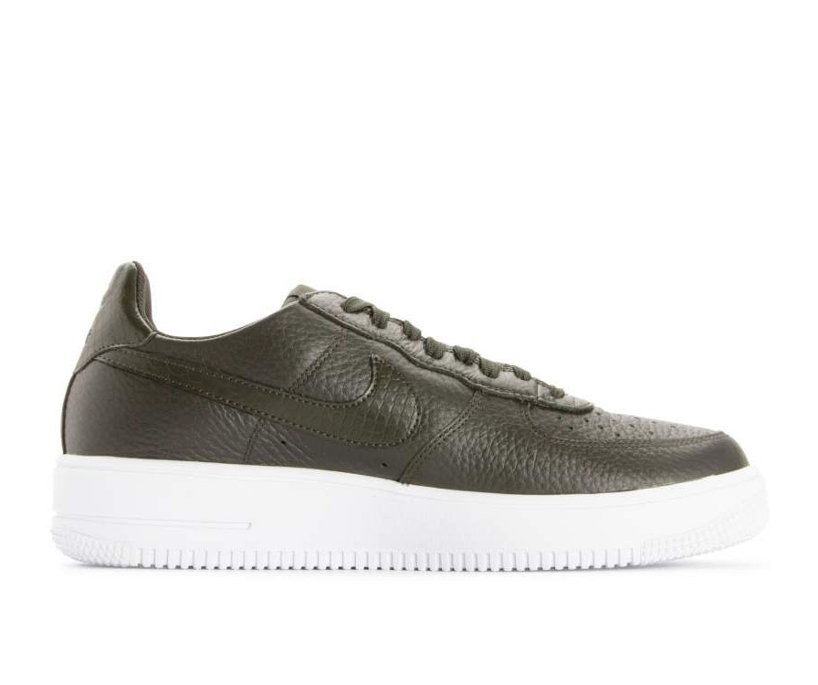 818735-300 Nike Air Force 1 Ultraforce Scarpe - Verdi/Bianche
