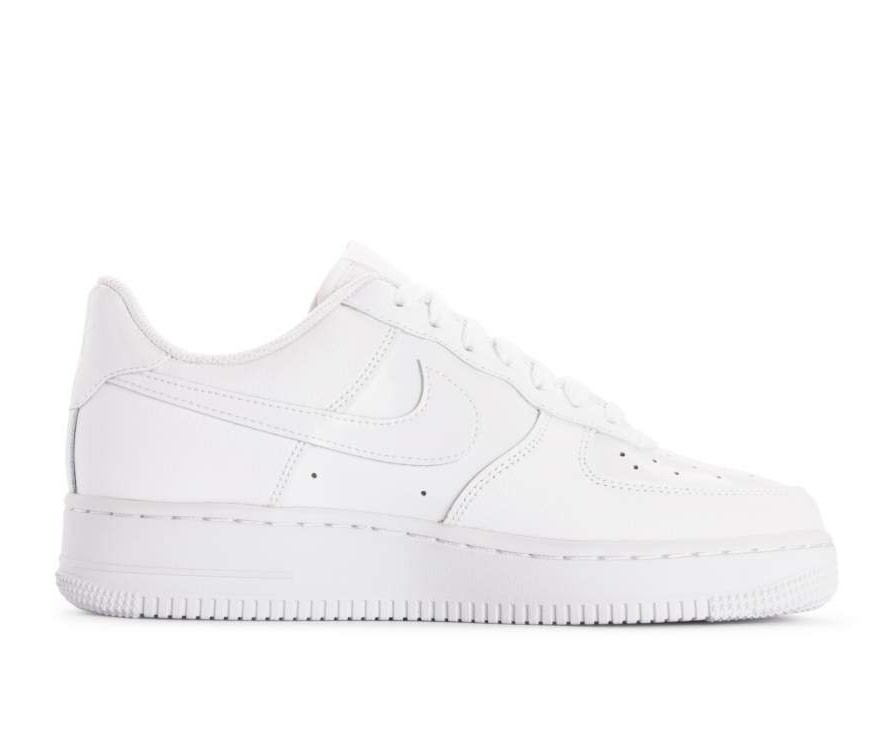 AH0287-100 Nike Donne Air Force 1 '07 Scarpe - Bianche/Bianche