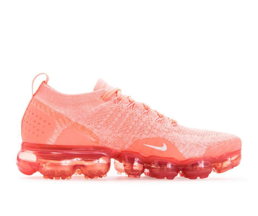 942843-800 Nike Donne Air Vapormax Flyknit 2 - Crimson Pulse/Sail/Coral Stardust