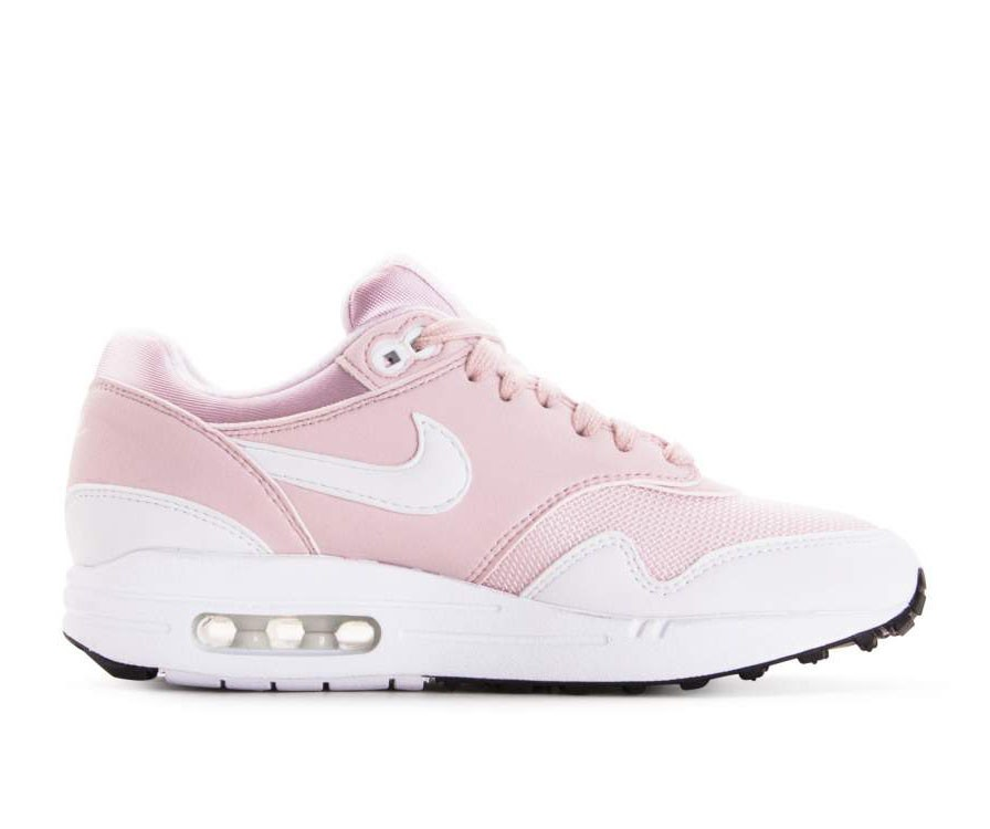 319986-607 Nike Donne Air Max 1 Scarpe - Barely Rose/Bianche