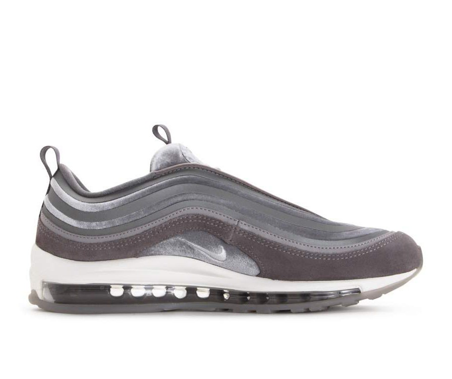AH6805-001 Nike Donne Air Max 97 Ultra LX - Gunsmoke/Bianche