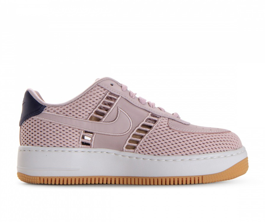 917591-600 Nike Donne Air Force 1 Upstep SI - Particle Rose/Particle Rose/Bianche