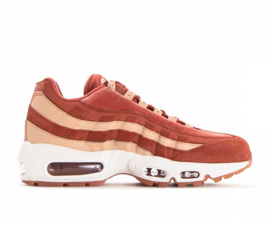 AA1103-201 Nike Donne Air Max 95 LX - Dusty Peach/Dusty Peach-Beige