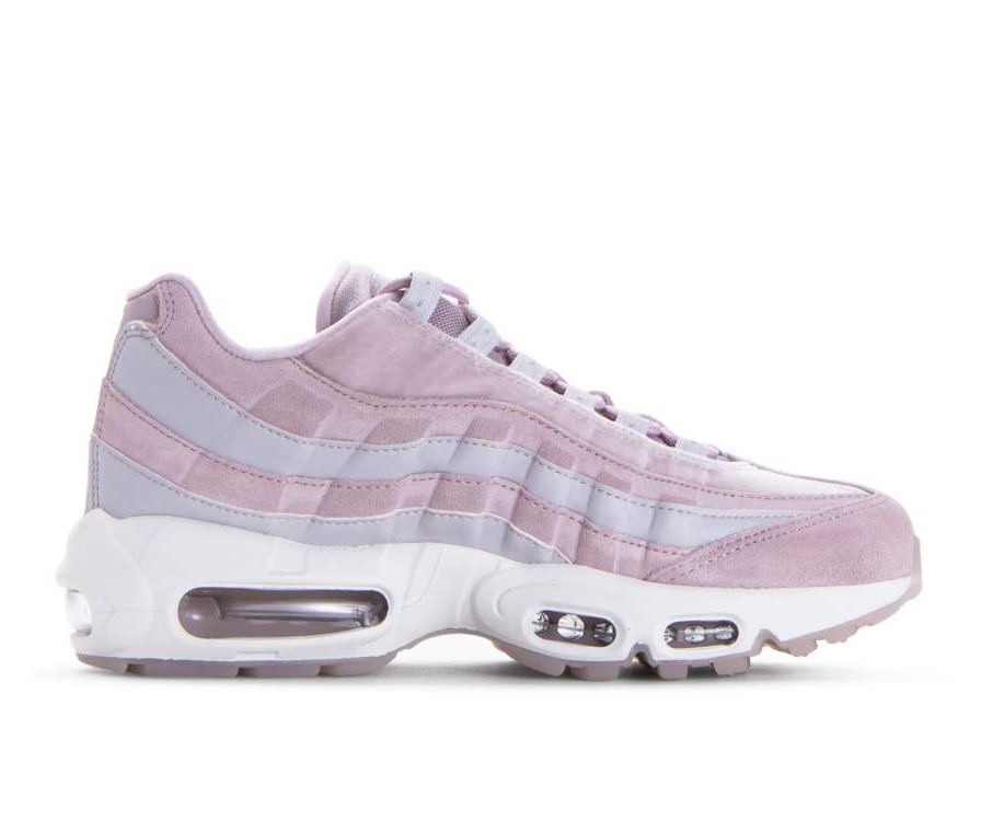 AA1103-600 Nike Donne Air Max 95 LX - Particle Rose/Particle Rose-Grigio