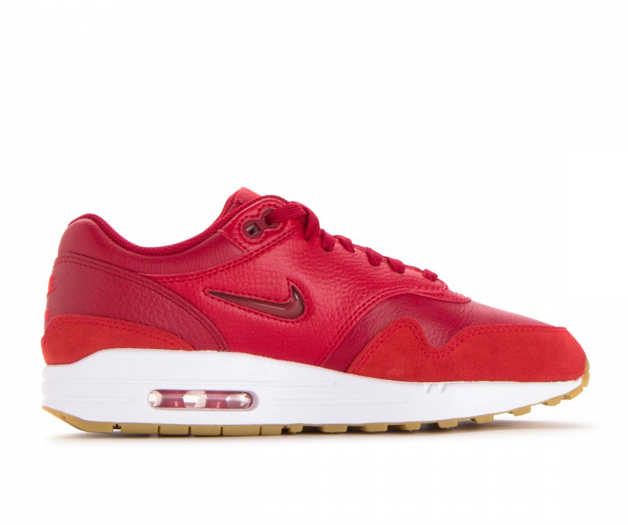 AA0512-602 Nike Donne Air Max 1 Premium SC - Gym Rosse/Gym Rosse-Rosse