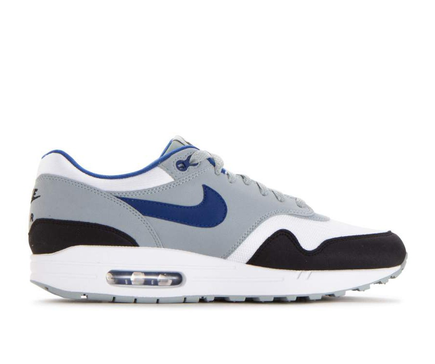 AH8145-102 Nike Air Max 1 - Bianche/Gym Blu-Light Pumice-Nere