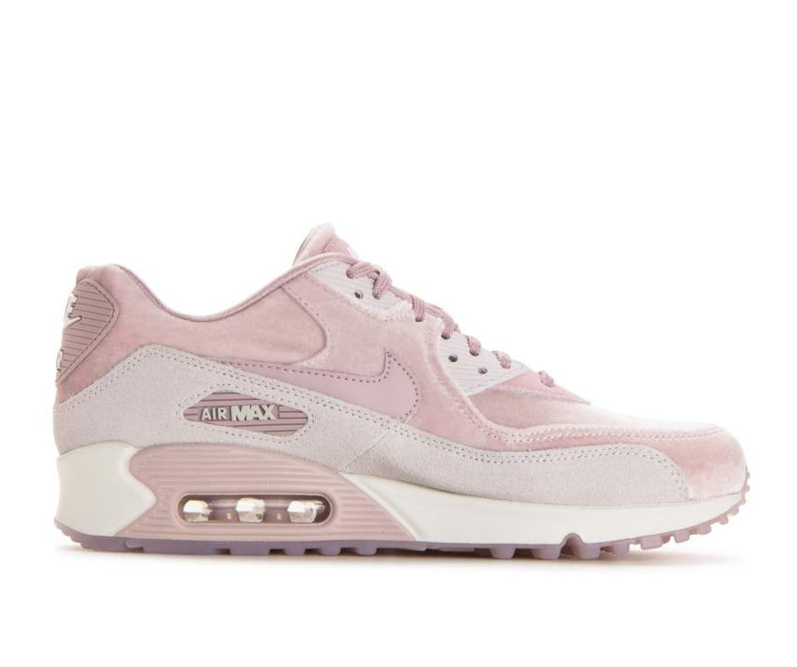 898512-600 Nike Donne Air Max 90 LX - Particle Rose/Particle Rose-Grigio